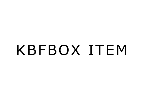 KBF BOX ITEM