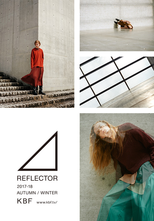 KBF 2017-18 Autumn / Winter REFLECTOR