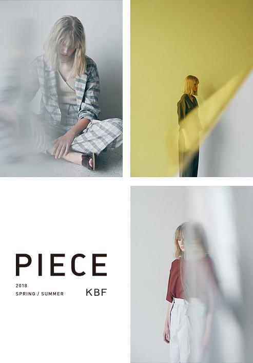 KBF 2018 SPRING/SUMMER PIECE