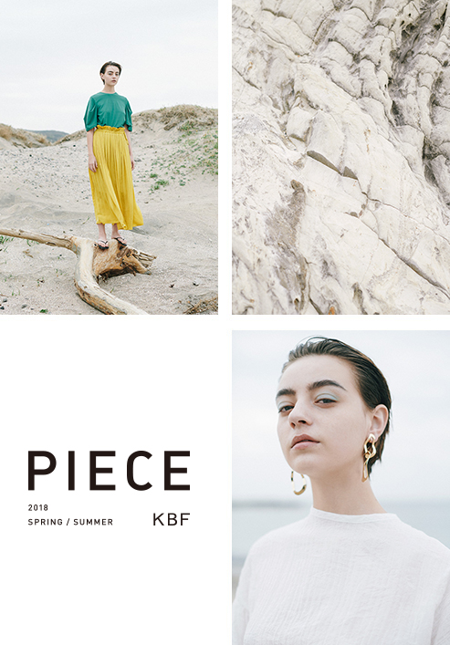 KBF 2018 SPRING/SUMMER PIECE  vol.2