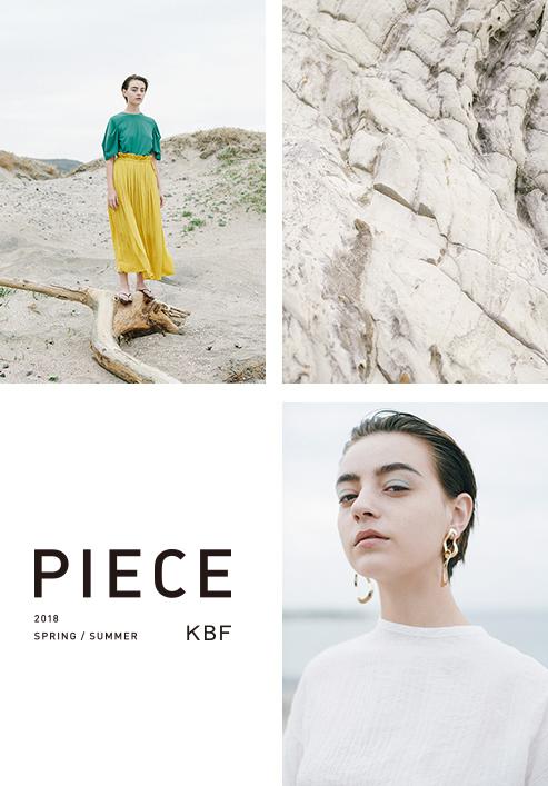KBF 2018 SPRING/SUMMER PIECE  vol.2