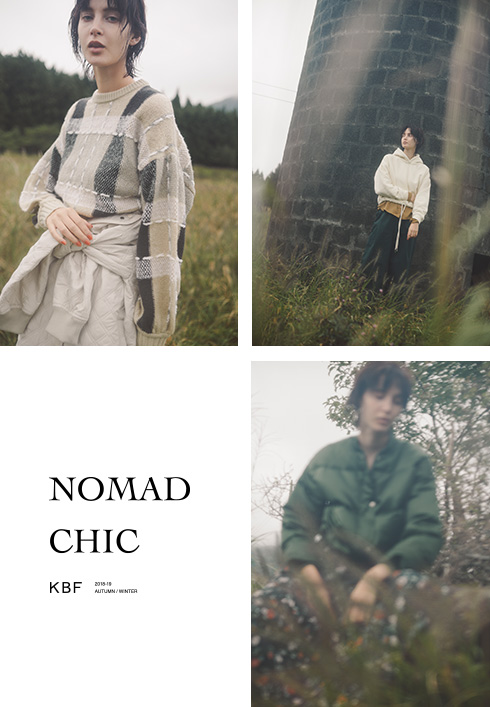 KBF 2018 AUTUMN/WINTER NOMAD CHIC