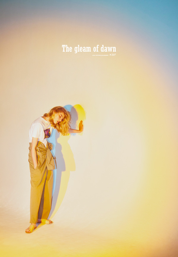 "2019 S/S ""The gleam of dawn"""