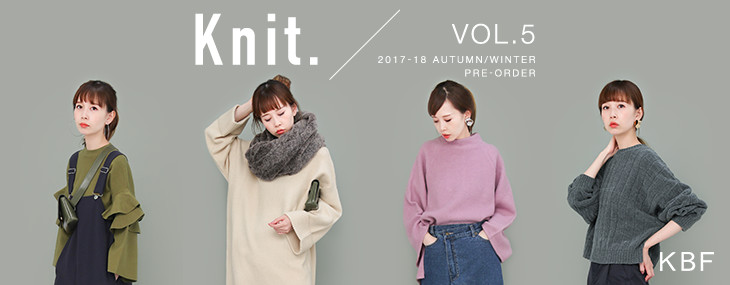 KBF Knit. / VOL.5 PRE-ORDER