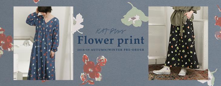 KBF+ Flower print PRE-ORDER