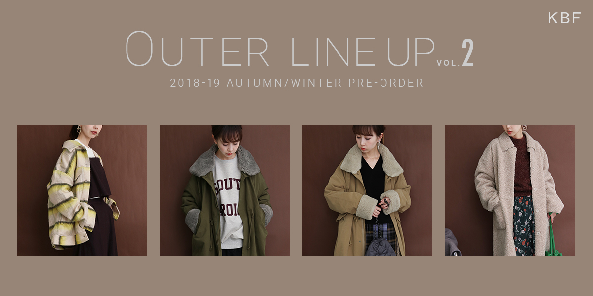 KBF OUTER LINE UP VOL.2 PRE-ORDER
