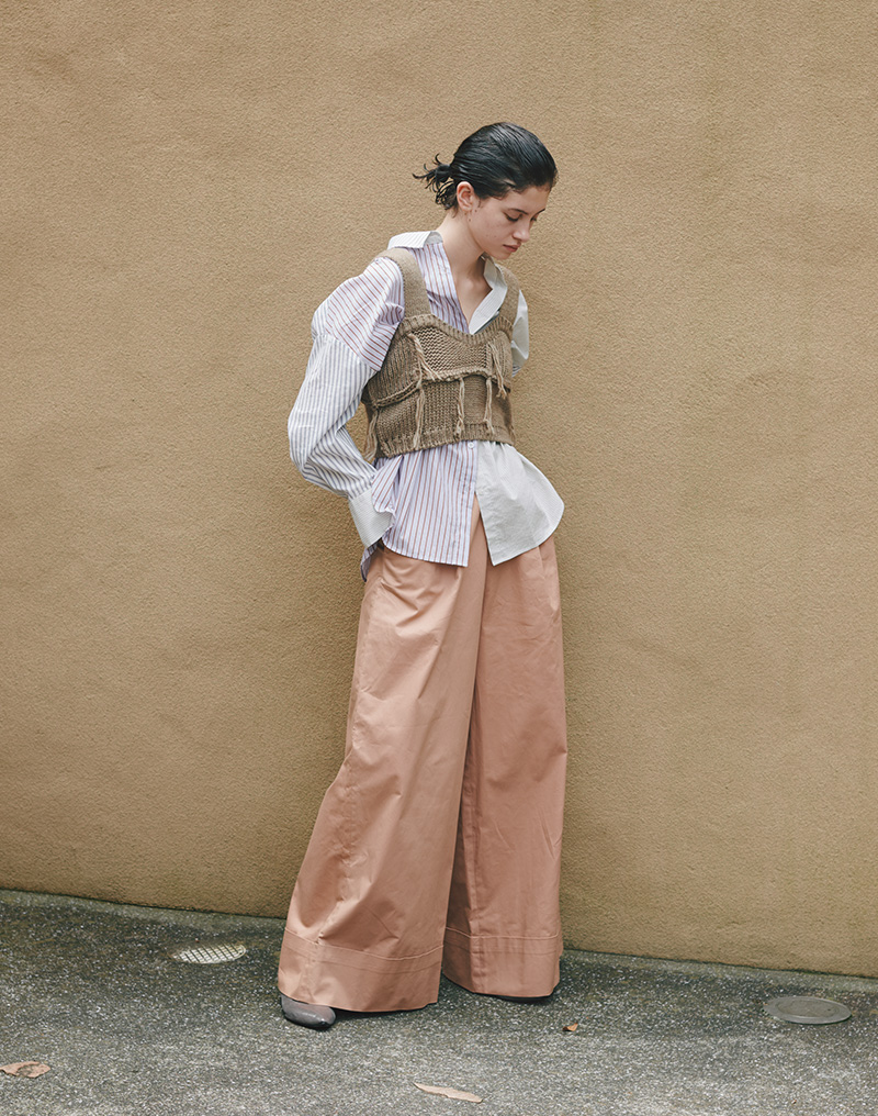 "2018 Autumn / Winter ""NOMAD CHIC"" vol.1 style 04"