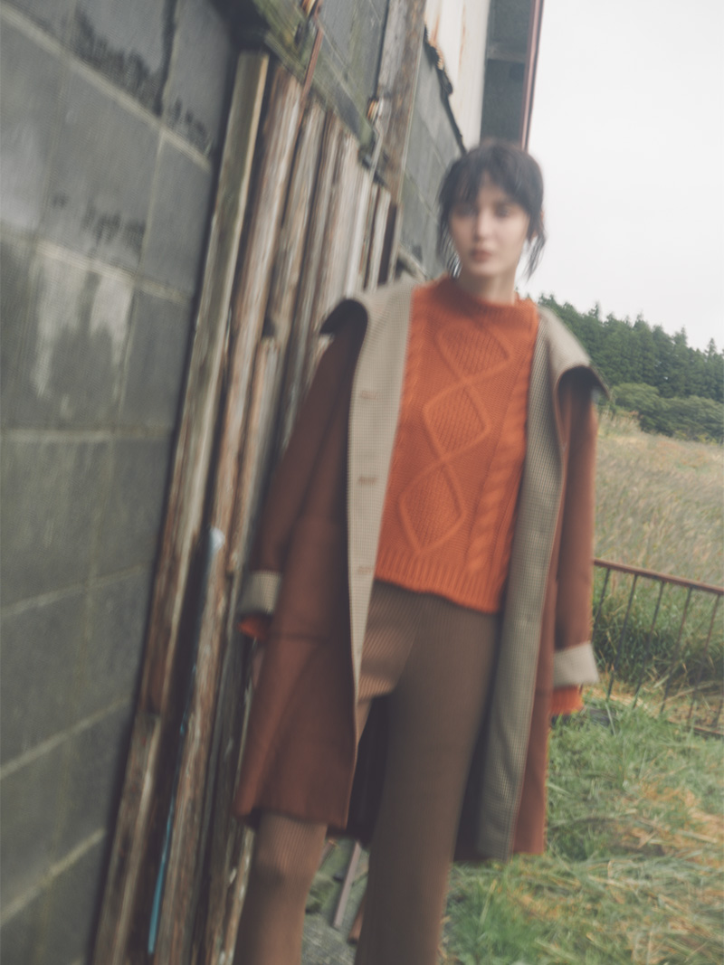 "2018 Autumn / Winter ""NOMAD CHIC"" vol.1 style 01"