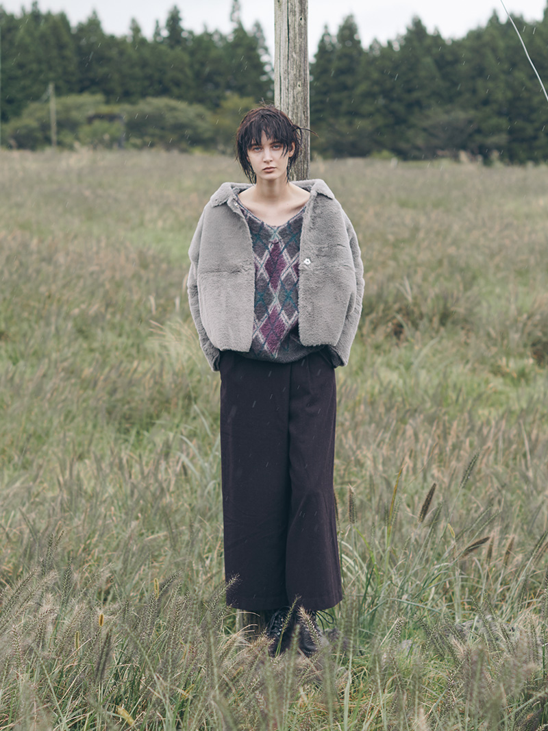 "2018 Autumn / Winter ""NOMAD CHIC"" vol.1 style 03"