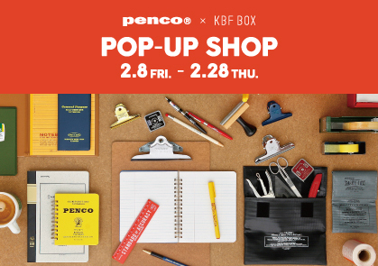 penco POP UP SHOP