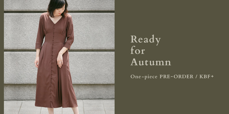 KBF+ Ready for Autumn ― One-piece PRE-ORDER