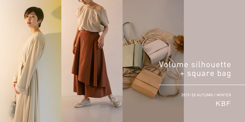 KBF Volume silhouette + square bag